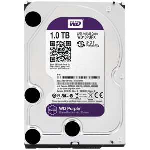 1 TB W.DIGITAL PURPLE 7x24