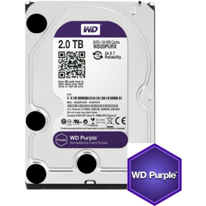 2 TB W.DIGITAL PURPLE 7x24