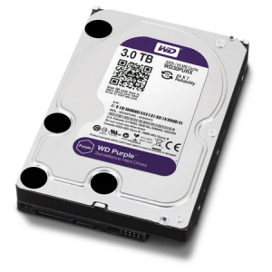 3 TB W.DIGITAL PURPLE 7x24