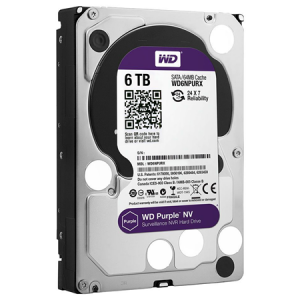6 TB W.DIGITAL PURPLE 7x24